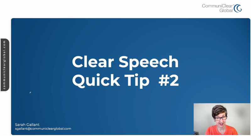 1 Tip to Speak Slower in English