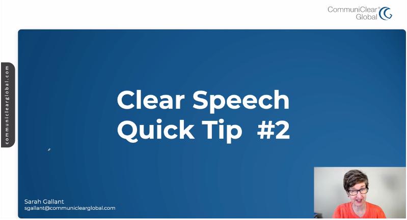 1 Tip to Speak Slower in English